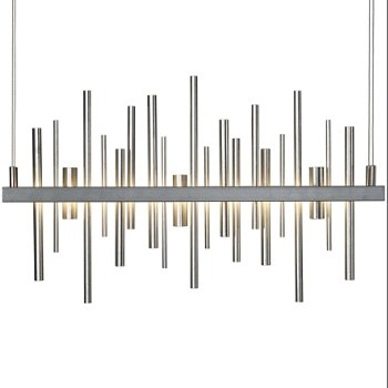 Shown in Burnished Steel with Vintage Platinum finish