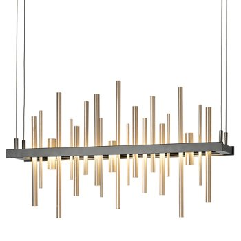 Shown in Black with Soft Gold finish