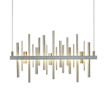Shown in Soft Gold finish, Burnished Steel finish