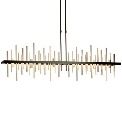 linear suspension lighting. cityscape large led linear suspension lighting g