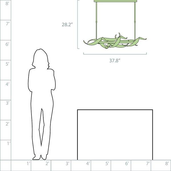 Folio LED Linear Suspension