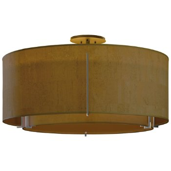 Shown in Doeskin Micro Suede outer shade, Natural Anna inner shade, Dark Smoke finish
