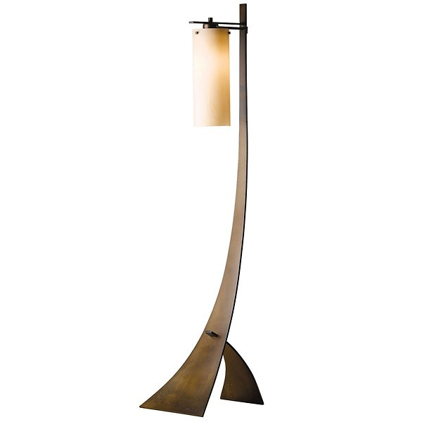 Stasis Floor Lamp with Glass