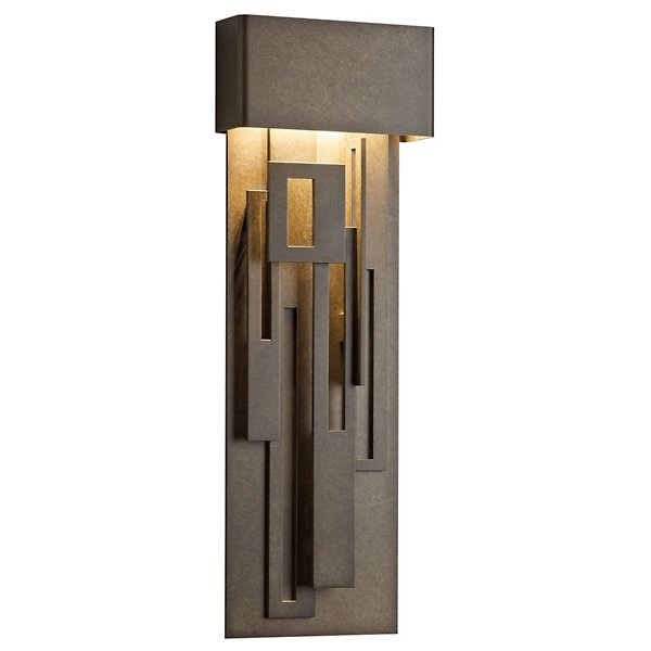 Collage Outdoor Coastal Tall LED Wall Sconce