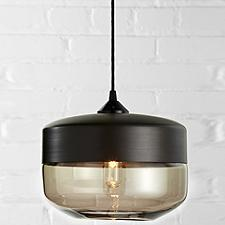Wide Cylinder Pendant (Bronze/Bronze) - OPEN BOX RETURN