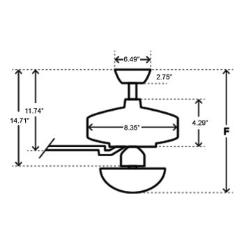 Vault Ceiling Fan by Hunter Fans at Lumens.com