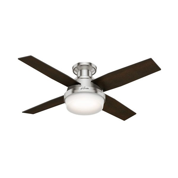 Dempsey Low Profile Ceiling Fan With