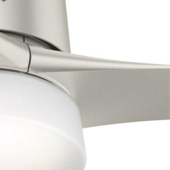 Shown in Matte Nickel with Matte Nickel blades finish, Detail view