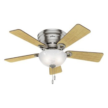 Shown in Brushed Nickel with Maple blades