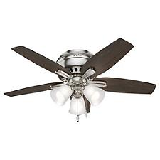Newsome Low Profile Ceiling Fan with Light