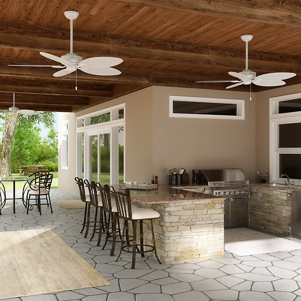 Bayview Outdoor Ceiling Fan