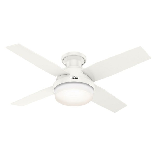 Dempsey Outdoor 44 Inch Ceiling Fan with LED Light