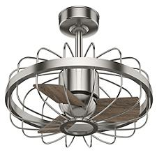 Roswell Ceiling Fan - Body Finish: Noble Bronze - Blade Color: Latte Oak