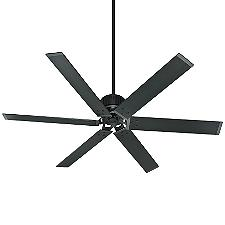 HFC 72 Ceiling Fan - Body Finish: Matte Black - Blade Color: Matte Black