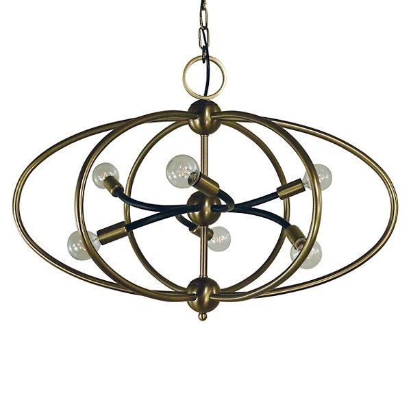 Orbit Chandelier By Framburg Lighting