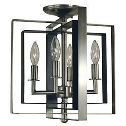 Symmetry Semi-Flushmount