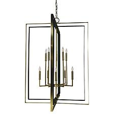 Symmetry 2-Tier Chandelier