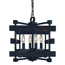 Rustic Chic Small Chandelier