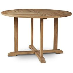 Curtis Outdoor Dining Table with Umbrella Hole