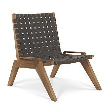 Draper Outdoor Woven Chat Chair