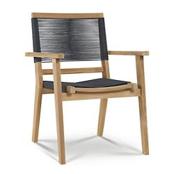 Oslo Outdoor Stackable Armchair, Set of 2