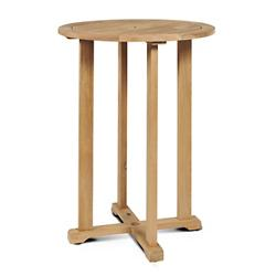 Palm Outdoor Bistro Table with Umbrella Hole