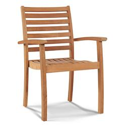 Royal Outdoor Stackable Armchair - Set of 4