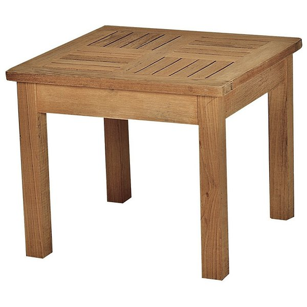 Bainbridge 3-Piece Adirondack Chair Teak Outdoor Lounge Set