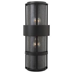 Saturn Narrow Outdoor 2-Light Wall Sconce