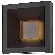 Plaza Outdoor LED Wall Sconce