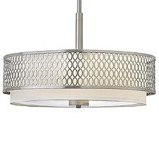 Jules Semi-Flushmount Light/Chandelier