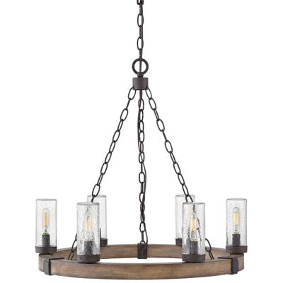Outdoor Chandeliers | Gazebo, Patio & Porch Chandeliers at Lumens.com