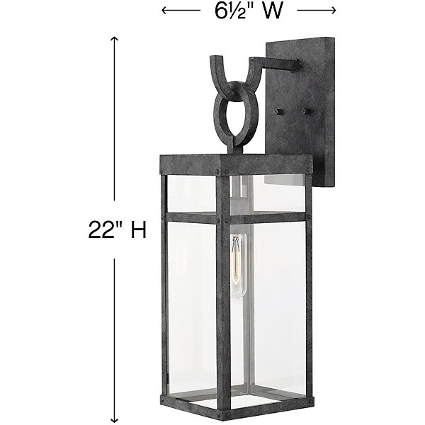 Porter Outdoor Wall Sconce