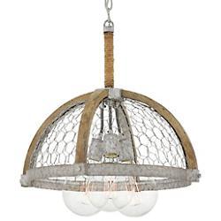 Heywood Half-Globe Pendant