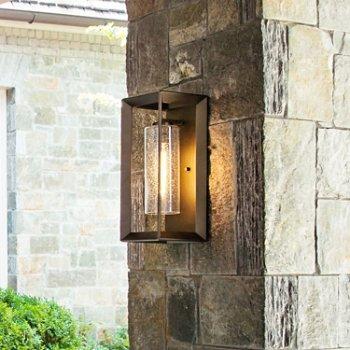 Shown in Warm Bronze finish, Medium size