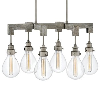 Show in Pewter finish, 6 Light