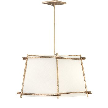 Shown in Champagne Gold finish, Large size