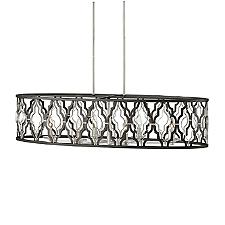 Portico 6 Light Linear Chandelier