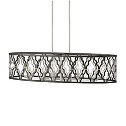 Portico 6 Light Linear Chandelier