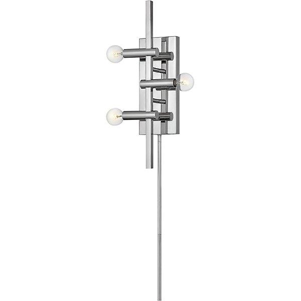 Kinzie Three Light Plug-in Wall Sconce