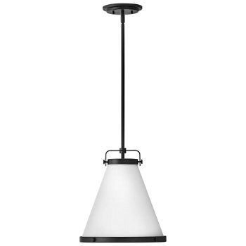 Shown in Lacquered Brass finish, Medium Size