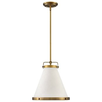 Shown in Lacquered Brass finish, Large Size