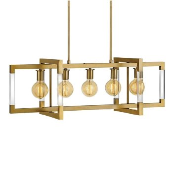 Shown in Lacquered Brass finish