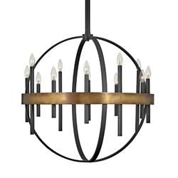 Wells Orb Chandelier