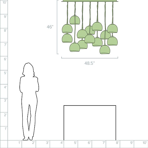 Nula Multi-Light Pendant