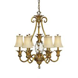 Plantation Single-Tier Chandelier