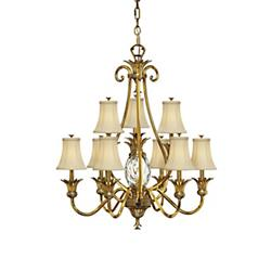 Plantation Two-Tier Chandelier