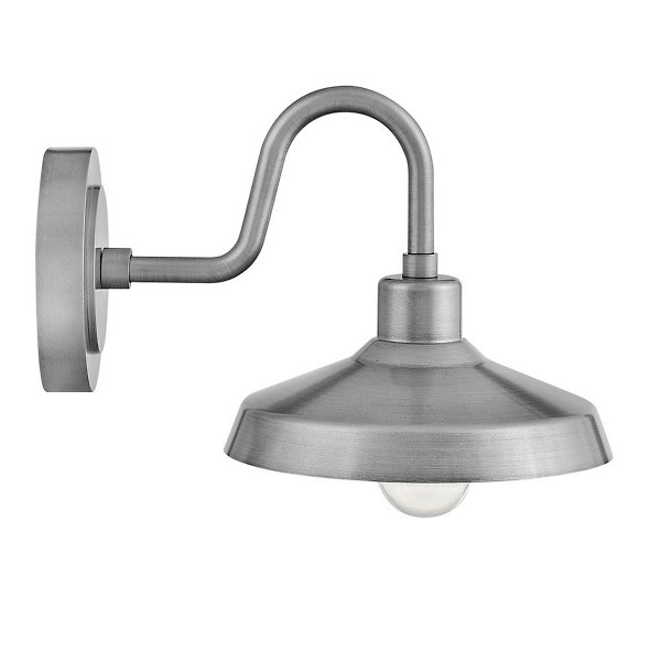 Forge Gooseneck Outdoor Wall Sconce