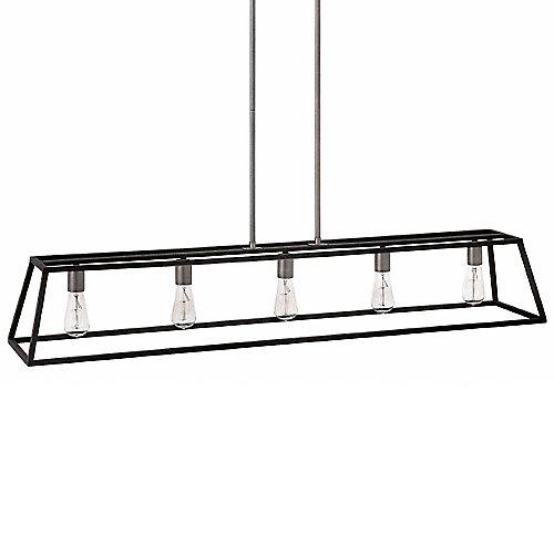 fulton 5 light linear suspension by hinkley lighting at lumens com