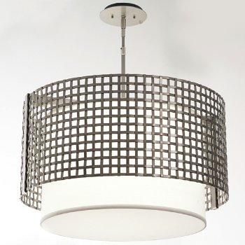 Shown in Metallic Beige Silver finish, 24 Inch size